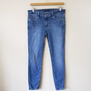 Ann Taylor The Skinny Ankle Modern Fit Jeans